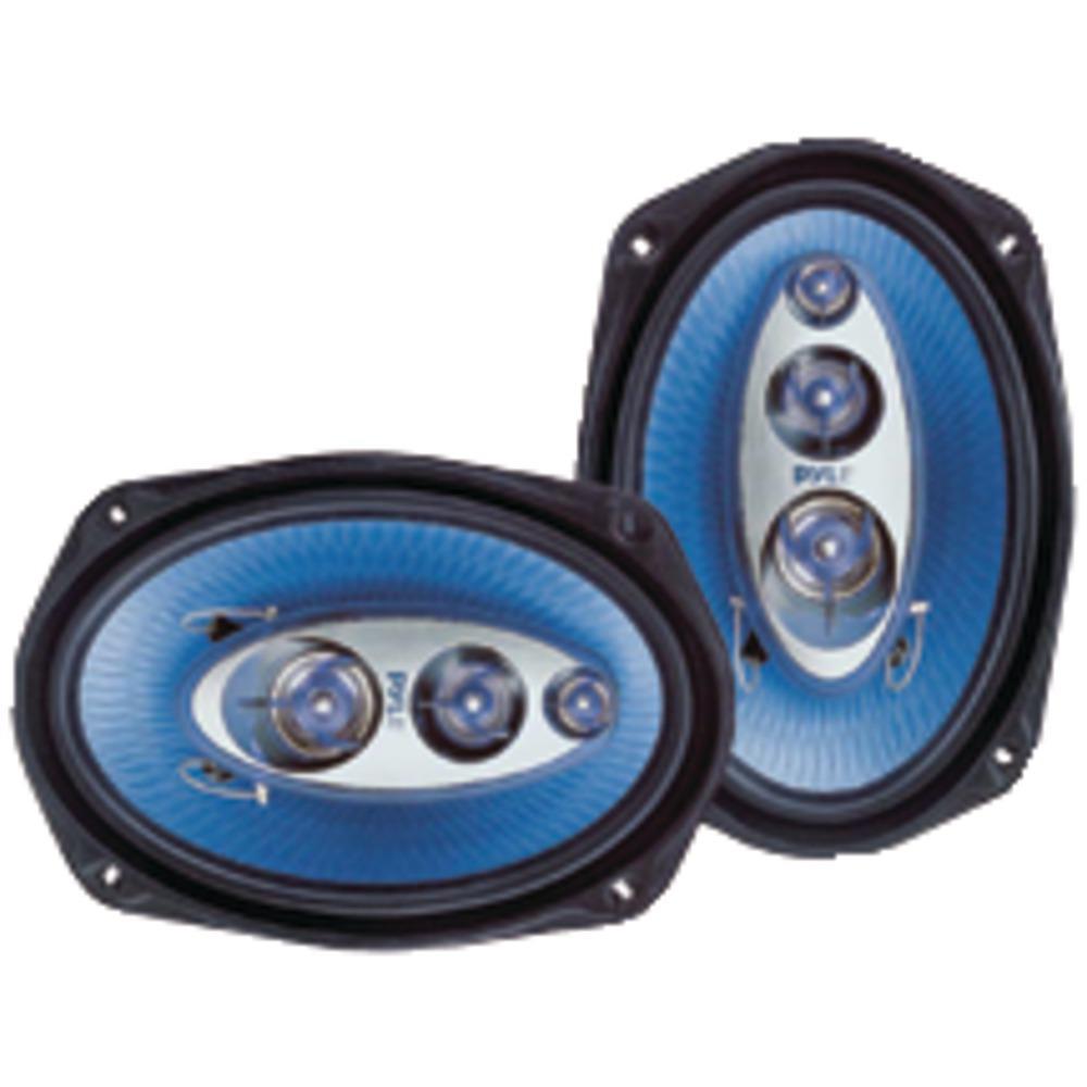 "Pyle Pro Blue Label Speakers (6"" X 9"", 4 Way) Car audio"