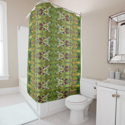 Colorful Mid-Summer Gardens! Shower Curtain | Summer garden