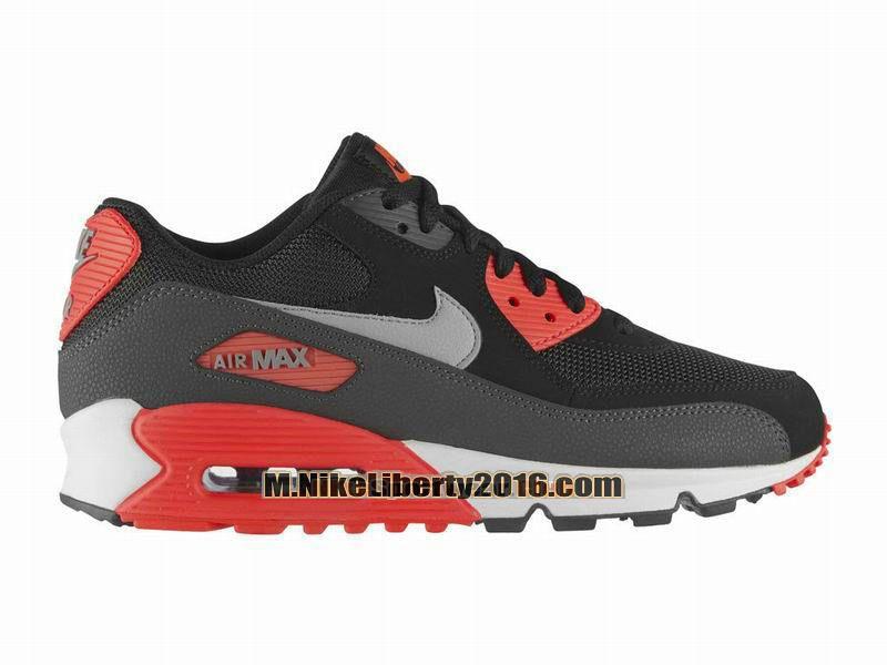 Nike Air Max 90 Essential Chaussure Nike Sportswear Pas Cher (Taille Homme)  Noir/