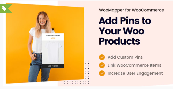 Woomapper Wordpress Hotspot Plugin Display Woocommerce Products Add Pins To Images In 2020 Woocommerce Custom Pins Ads