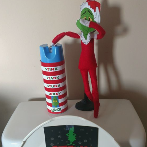 Stink Spray Elf on the shelf, Elf, Christmas time