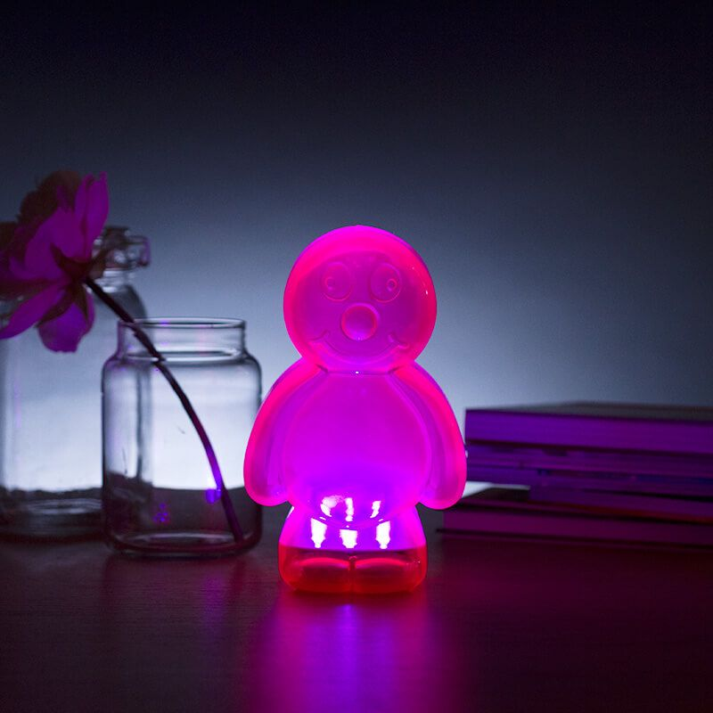 A sweet treat to bring light to your home available to buy now from prezzybox at jelly baby lamp pink in stock with fast uk delivery