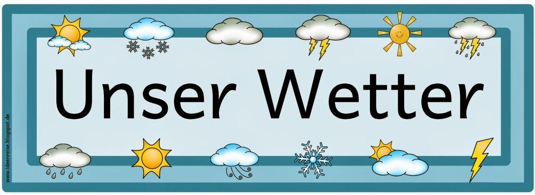 Ideenreise: Signalkarten zum Wetter (Ergänzungsset) | kita
