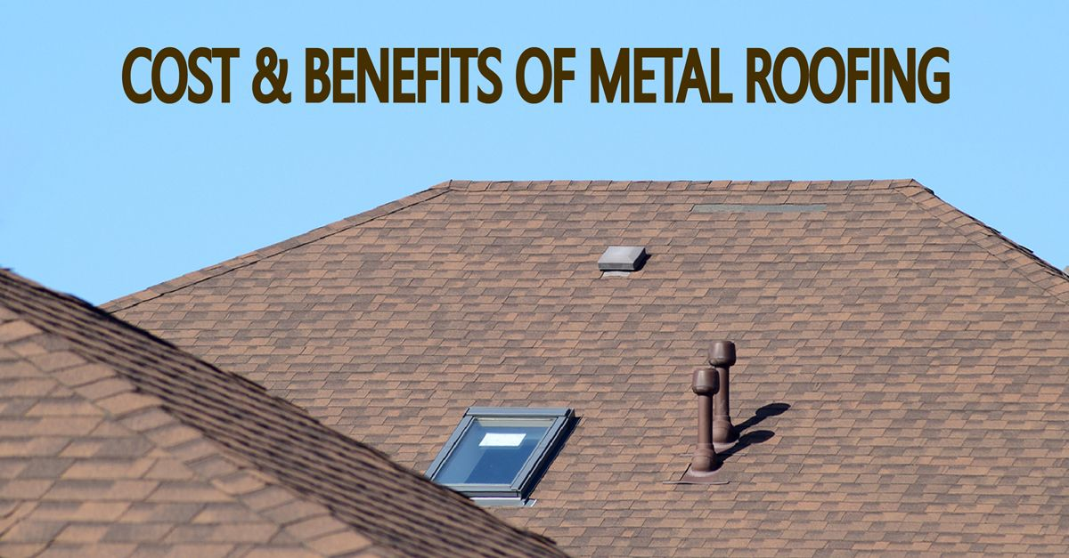 While Deciding To Have A Metal Roof Installed On Your Home Take Into Consideration That It Is Not The Cheapest The Initial Metal Roof Cost Roofing Metal Roof