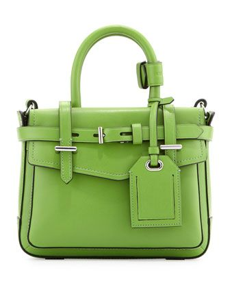Boxer Micro Tote Bag, Green by Reed Krakoff at Neiman Marcus.