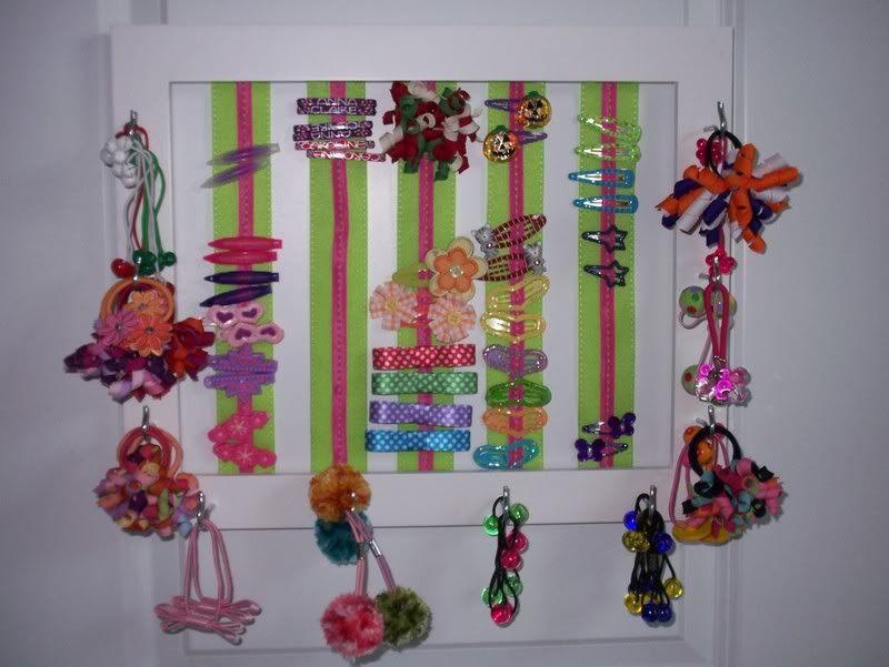 hair accessory organizer hair accessory organizer photo. Black Bedroom Furniture Sets. Home Design Ideas