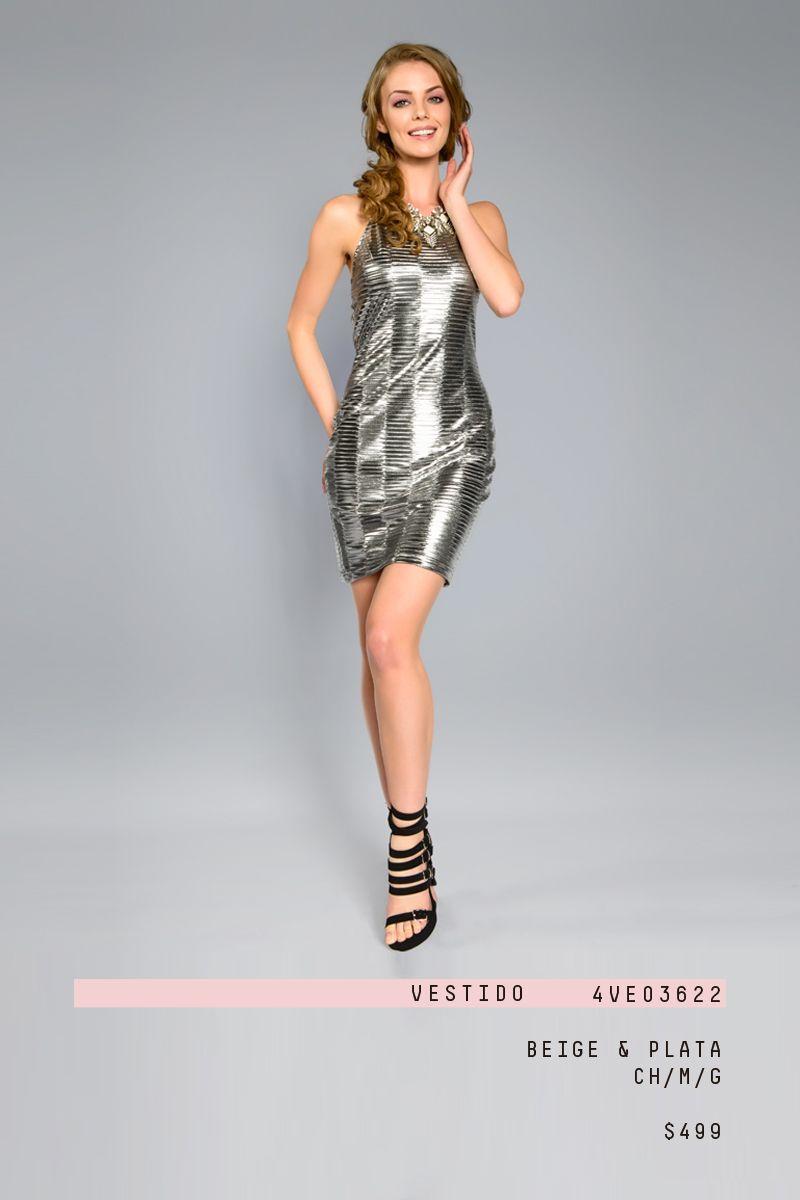 6190ca5f0  lizminelli  antro  fiesta  ropa  moda  mujer  plateado  chic