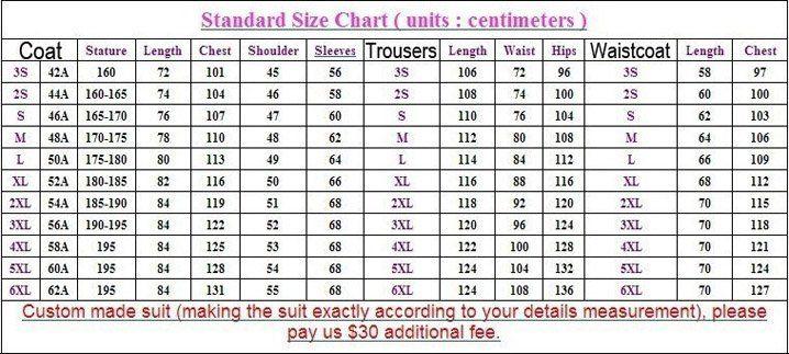 men\u0027s suit useful size charts John Pinterest Chart and Craft