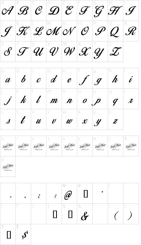 Font Birds of Paradise Regular - download font