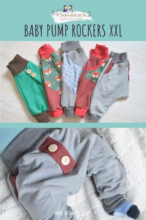 Babypump Rockers XXL #clothpatterns