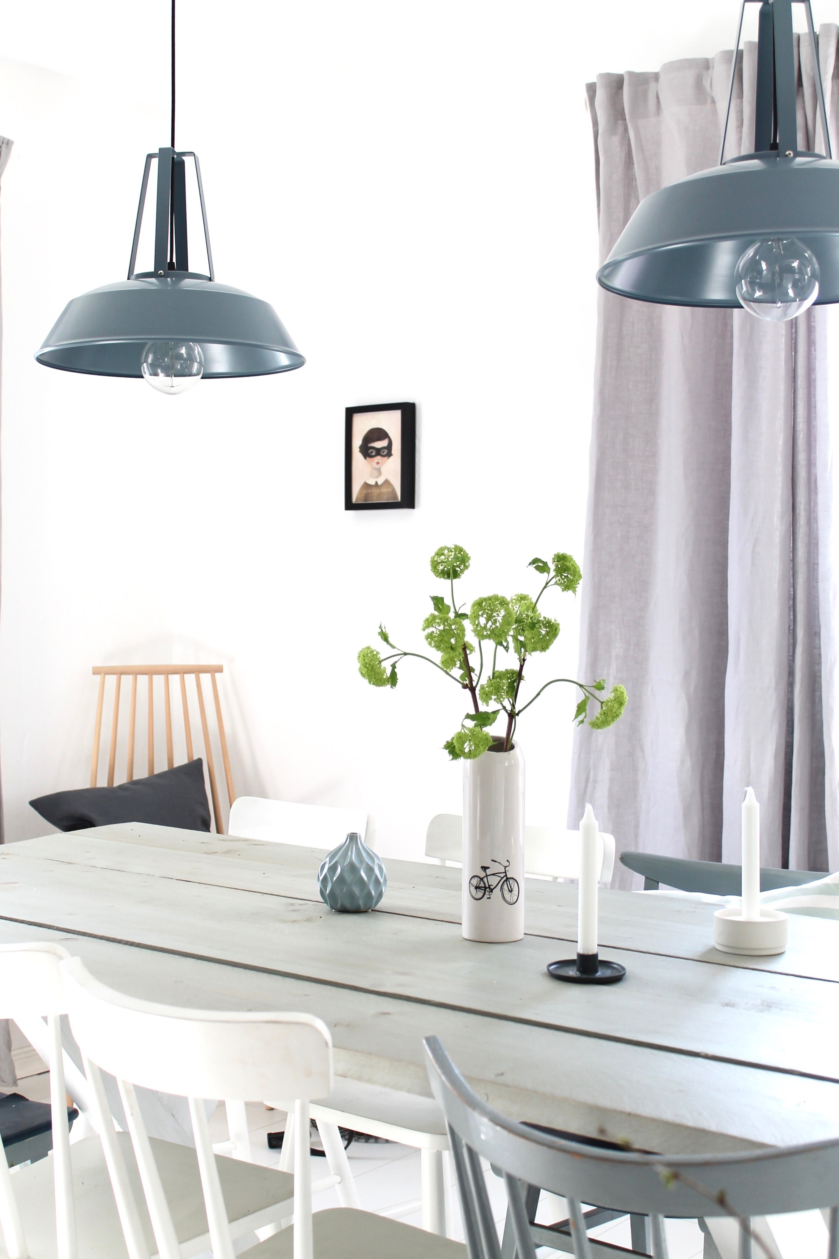 Our Grey Blue Green Diningroom  Id Pinterest  Blue Green Amusing Blue Green Dining Room Inspiration Design
