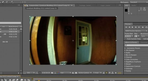 Fisheye Lens Correction with After Effects | After Effects | Video