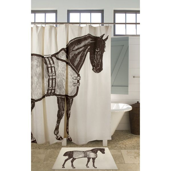 Thoroughbred Rectangle 100 Cotton Bath Rug Horse Shower Curtain Fabric Shower Curtains Octopus Shower Curtains