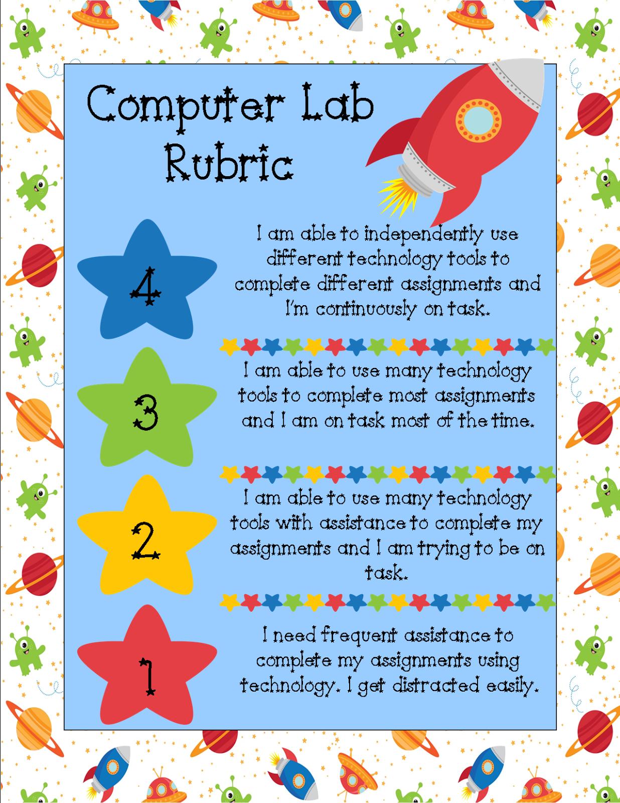 Tce Computer Lab Computer Lab Rubrics