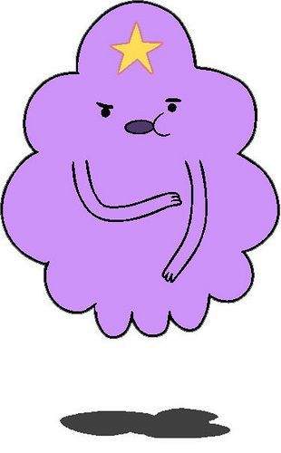LSP, The Lumpy Space Princess : Adventure Time (With Finn