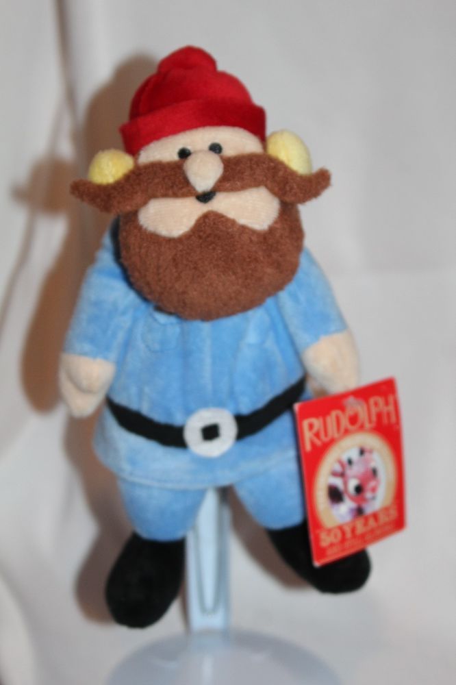 rudolph the red nosed reindeer movie plush character yukon