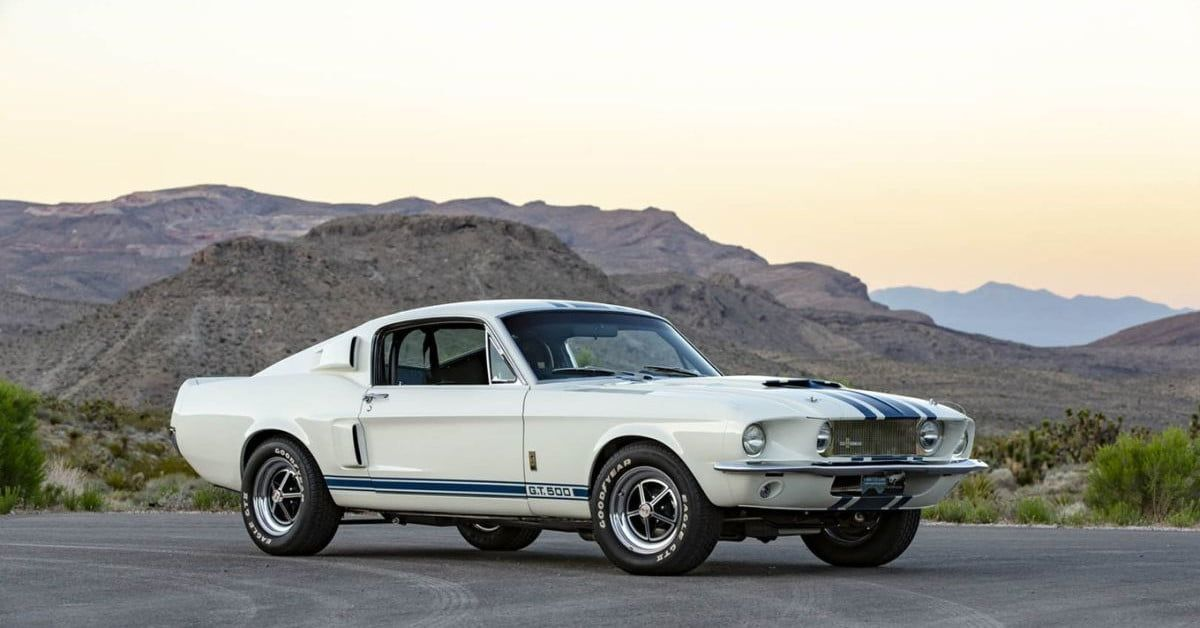 Shelby Will Roll Out 10 Limited Edition 67 Mustang Gt500 Super