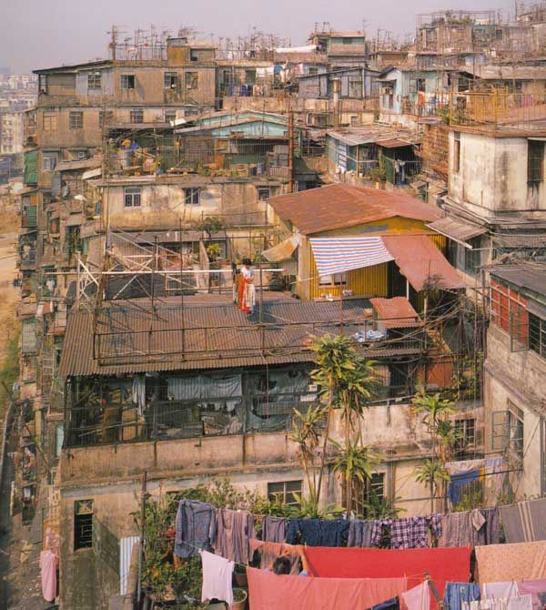 Kowloon Walled City rooftop