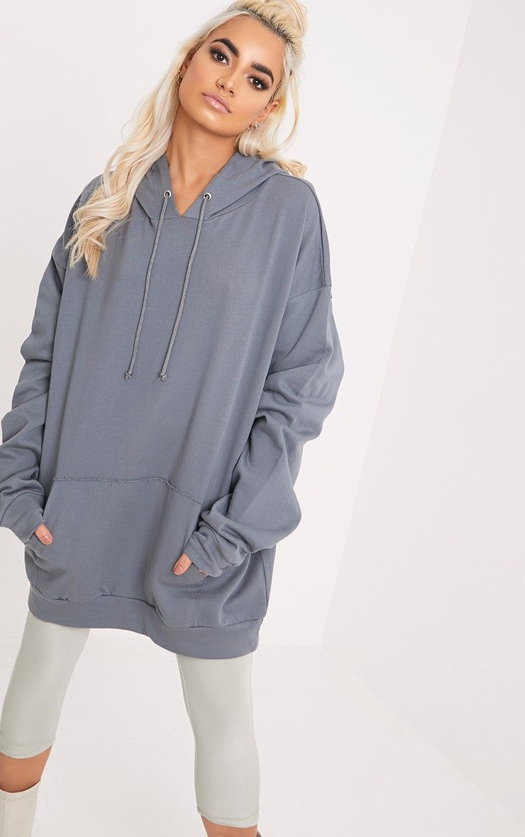 Steph Petrol Blue Oversized Hoodie Oversize Hoodie Sweaters Oversized Clothes [ 1180 x 740 Pixel ]