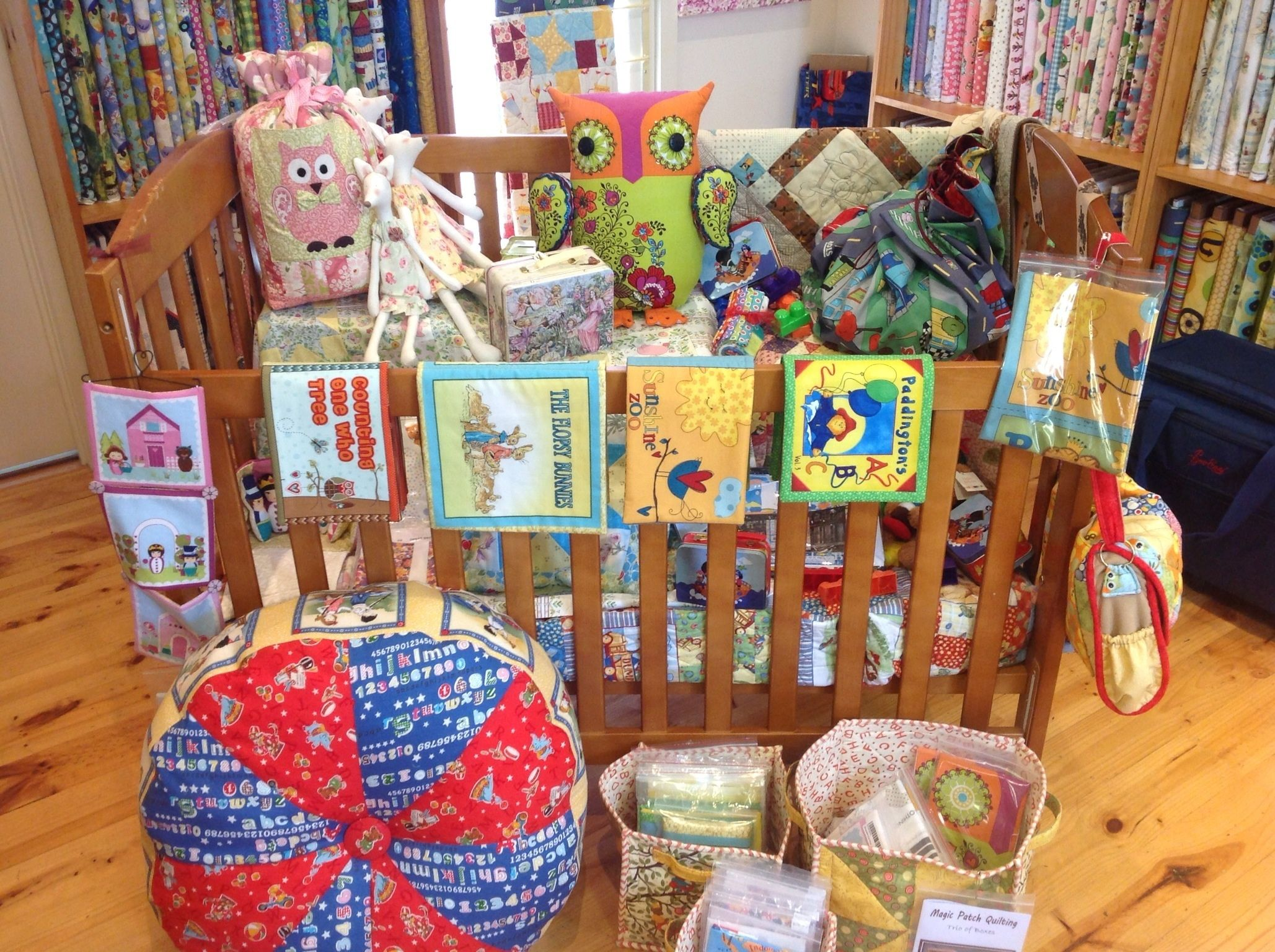 The cot filled with glorious, sweet little things for the little ... : magic patch quilting - Adamdwight.com