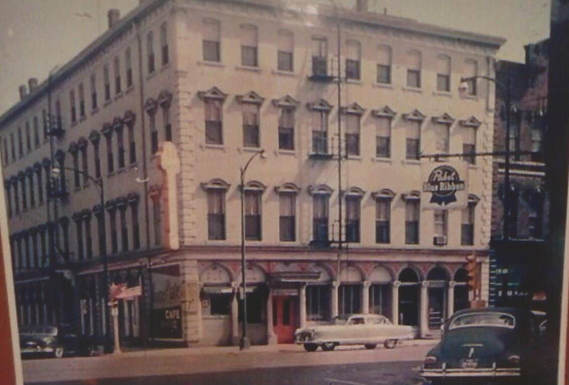 The Hawkeye Hotel And The Home Plate Cafe Burlington Iowa Iowa