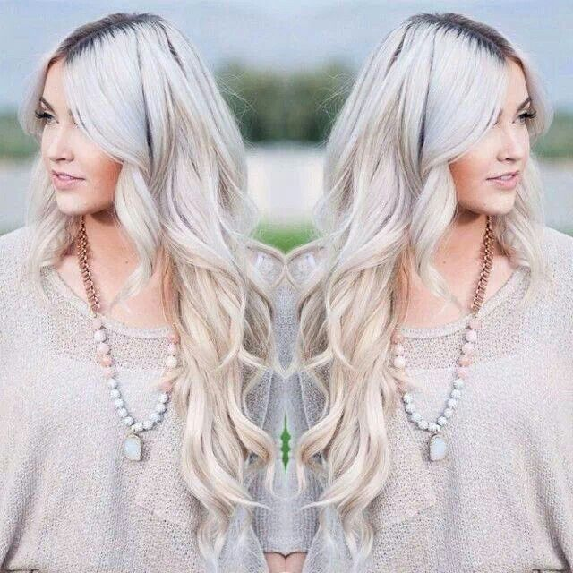 how to make dark roots look good