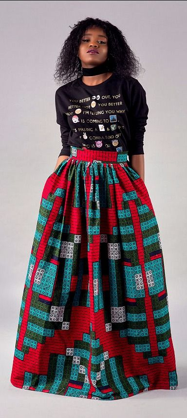 ac5269242 Beautiful high waist long gathered Maxi skirt. - Skirt has two side pockets  and 2.5