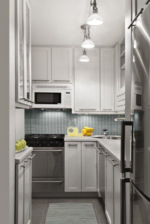 Kleine Küche Schränke Design Halten Sie den Raum sauber getan werden ...