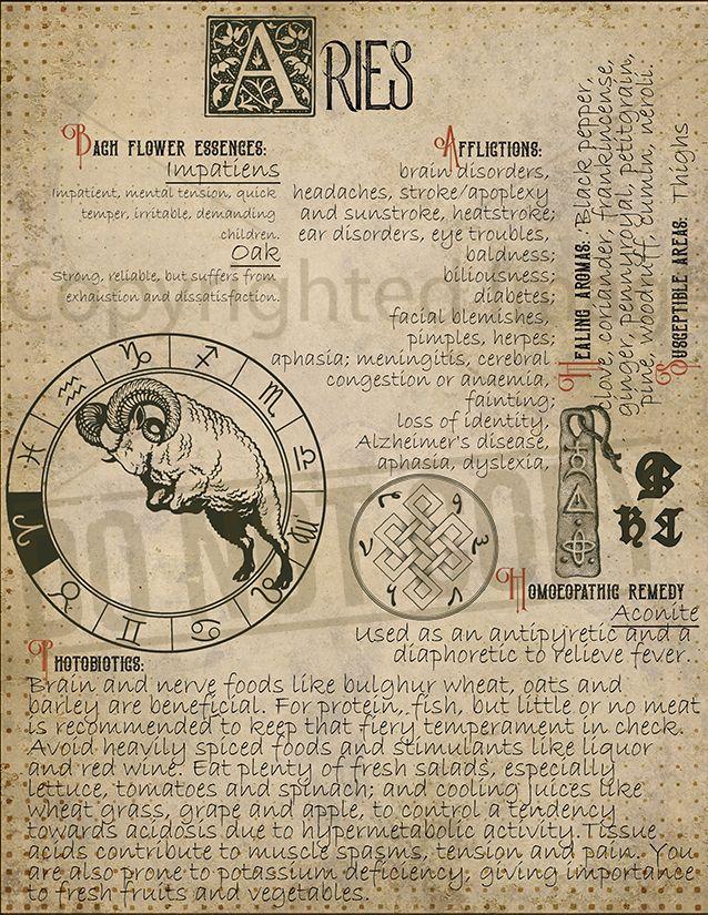 Aries Zodiac Sign 6