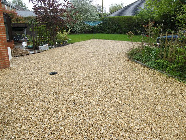 Like The Color Of This Gravel Driveway Driveway Ideas Cheap Stone Driveway Cottage Garden