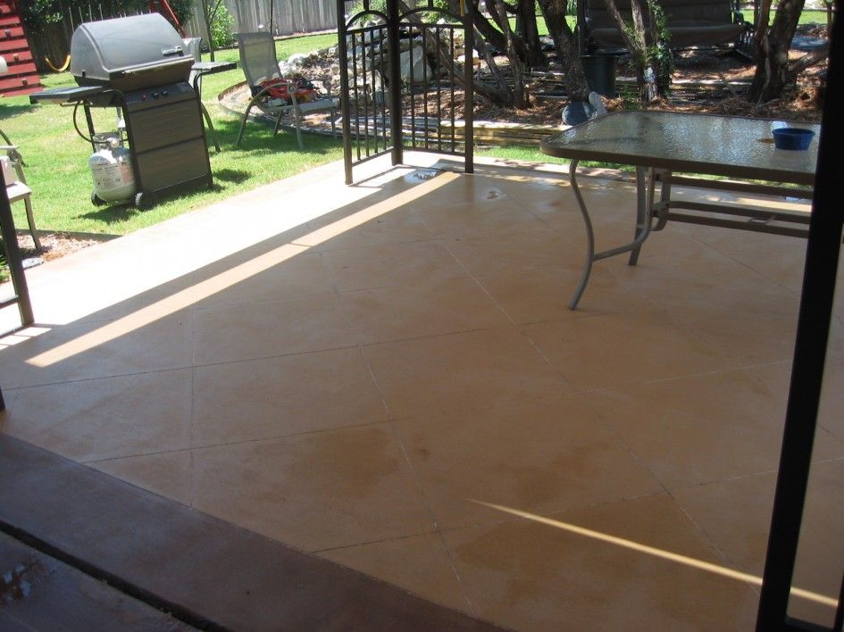 Miraculous Concrete Stain For Outdoor Patio On Valspar Brown Paint .
