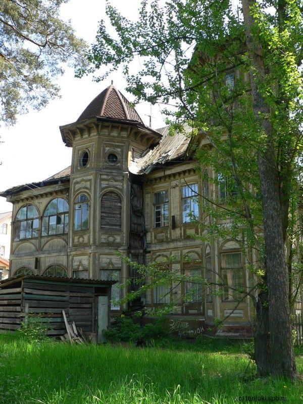 Abandoned in Zelenogorsk - a suburb of St  Petersburg