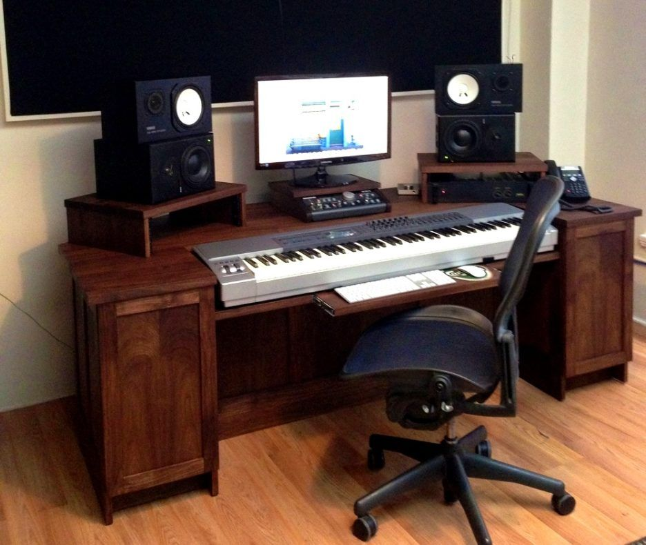 Modern Music Studio: Furniture. Great Piano On Home Music Studio Ideas, Piano