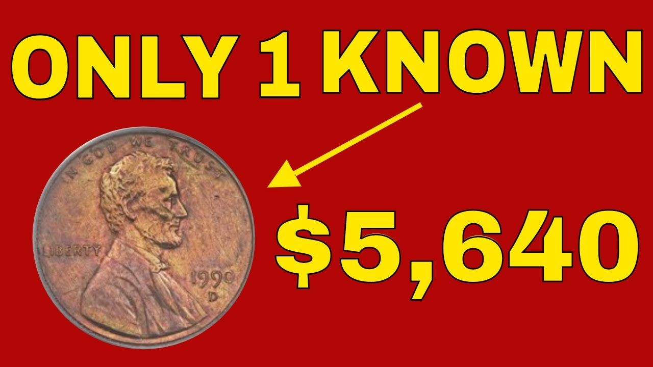 Super Rare 1990d Penny Sells In 2018 For 5 640 Check Your Change For T Rare Coins Worth Money Coins Worth Money Old Coins Worth Money