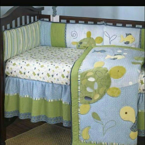 Turtle Crib Bedding Cocalo Turtle Reef Crib Bedding Set Set