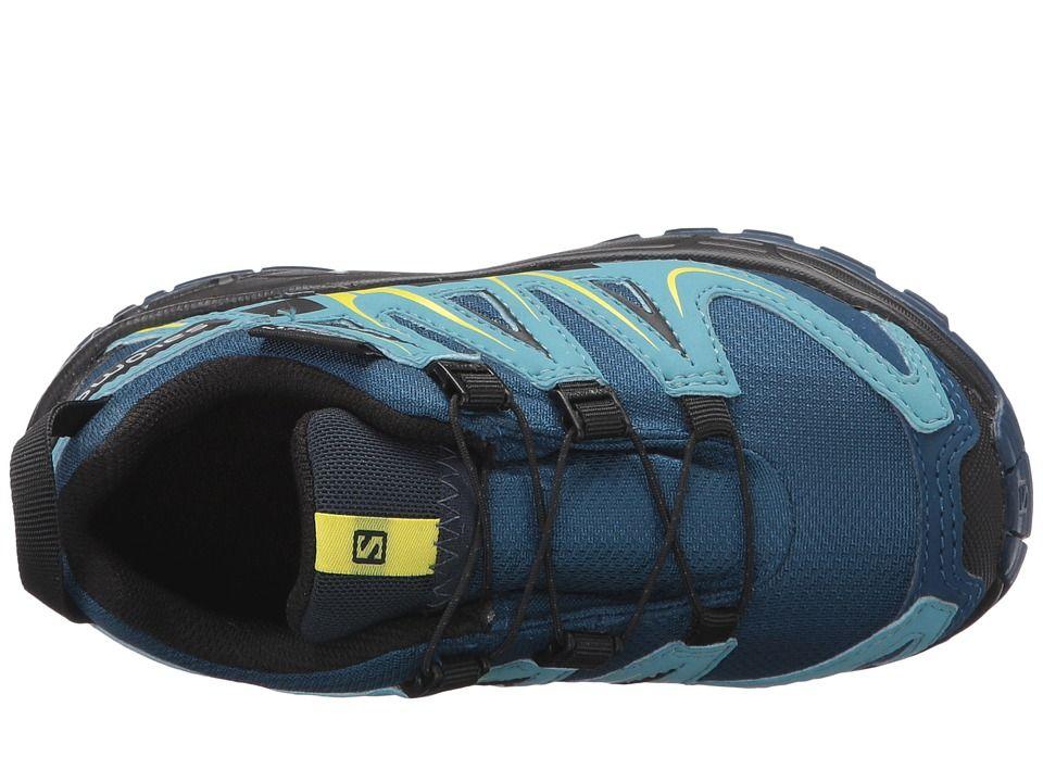 e31f0297dcb7 Salomon Kids Xa Pro 3D Cswp (Toddler Little Kid) Boys Shoes Midnight Blue