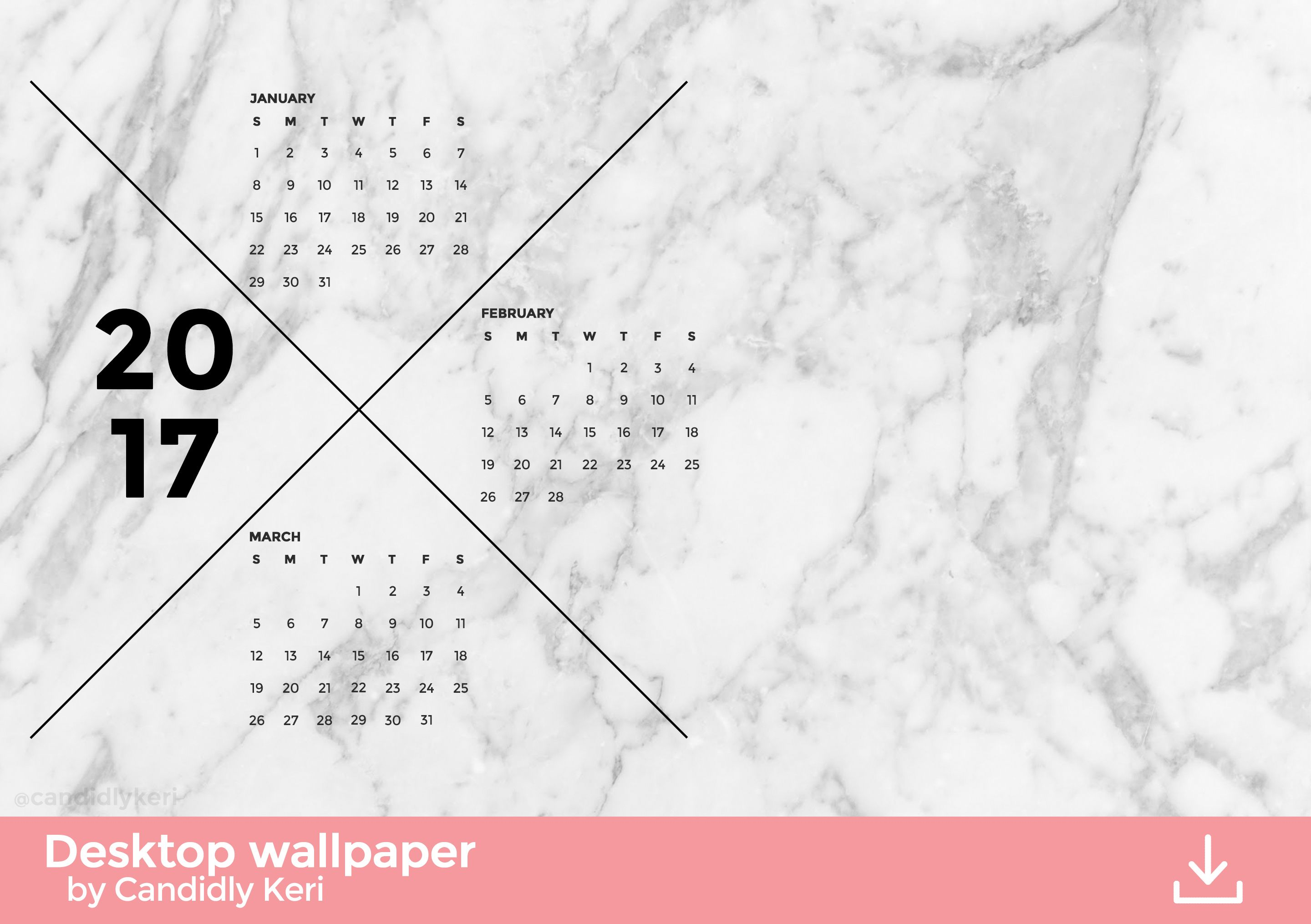 Marble Calendar Wallpaper : Month marble wallpaper calendars pinterest