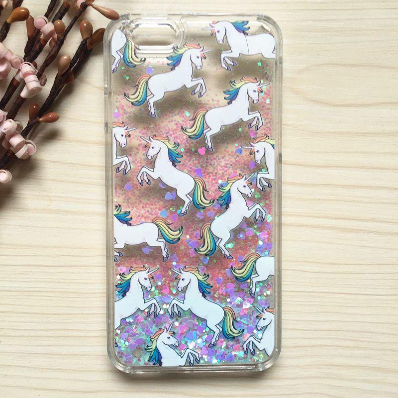 iphone 7 phone case unicorn glitter