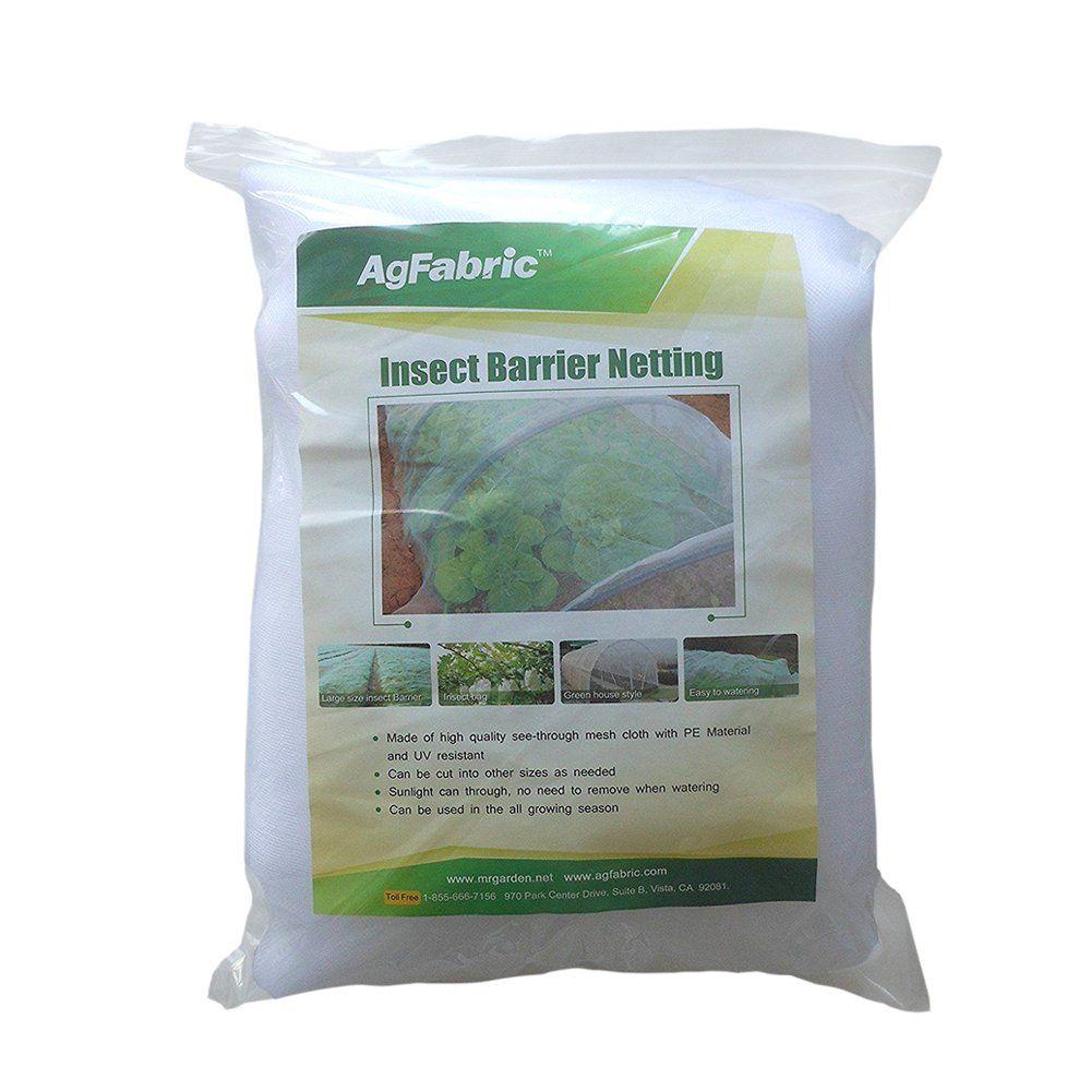 Agfabric Insect Screen Garden Netting against Birds 10/'x20/' of Mesh NettingWhite