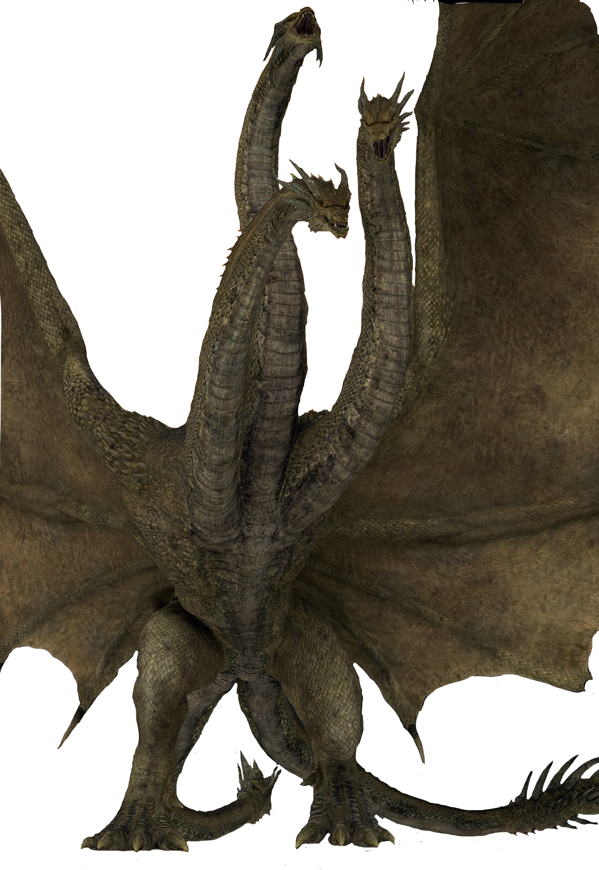 King Ghidorah 2019 Render By Magarame On Deviantart Godzilla Kong Godzilla Kaiju Monsters