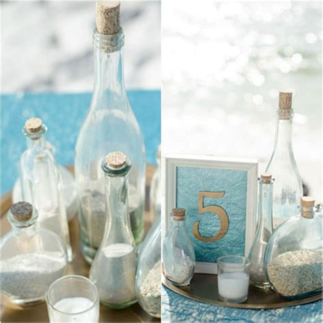 25+ Amazing Beach Centerpieces Ideas For Your Wedding Inspiration