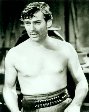 clark gable tall dark and handsome