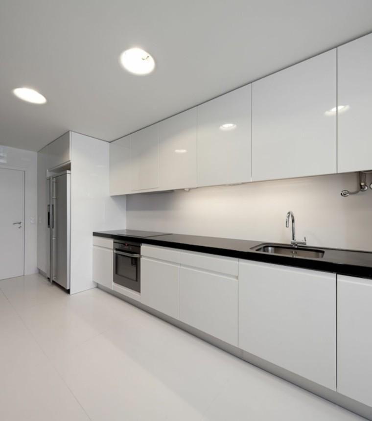 Modern White Design Kitchens – 50 examples – Decorationidea.Net Ev Aksesuarları
