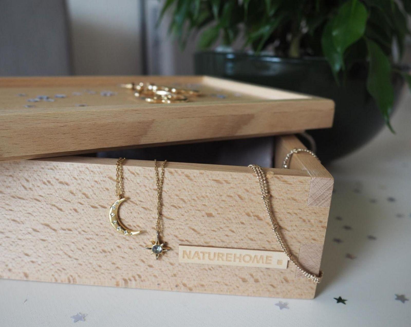 Holzbox Buche Mit Deckel Verschiedene Grossen Schmuckaufbewahrung