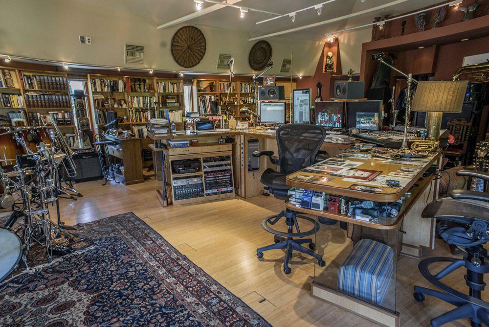Stewart Copeland Where The Gods Live Music Studio Dream Studio Recording Studio