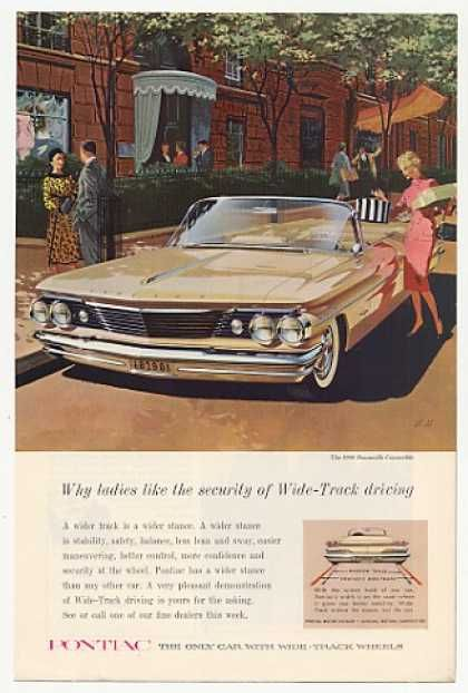 Pontiac Bonneville Convertible Ladies Like (1960)