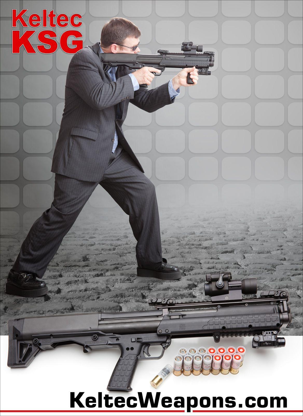 The Controversial Ksg Guns Shotgun Guns Firearms