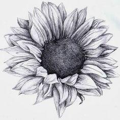 Photo of Black and White Sunflower Tattoo Designs | Sunflower Tattoos Sunflower tattoo