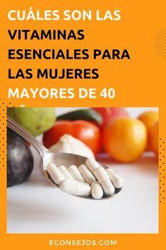vitaminas naturales para mujeres