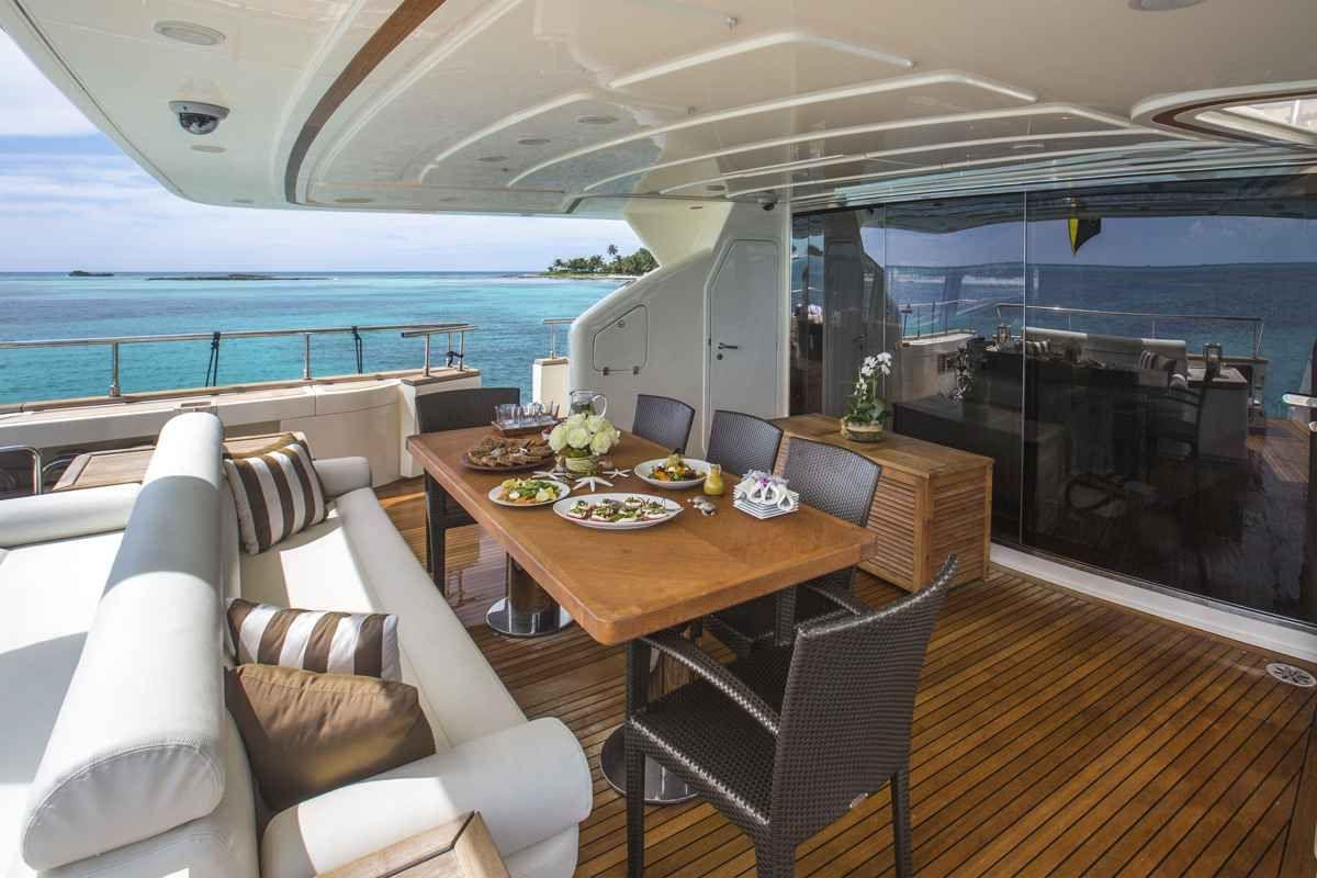 Soleado is part of the Fraser Yachts Worldwide charter fleet.